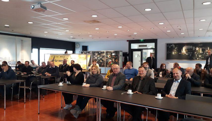 Turiningas SKIA narių darbinis vizitas Olandijoje